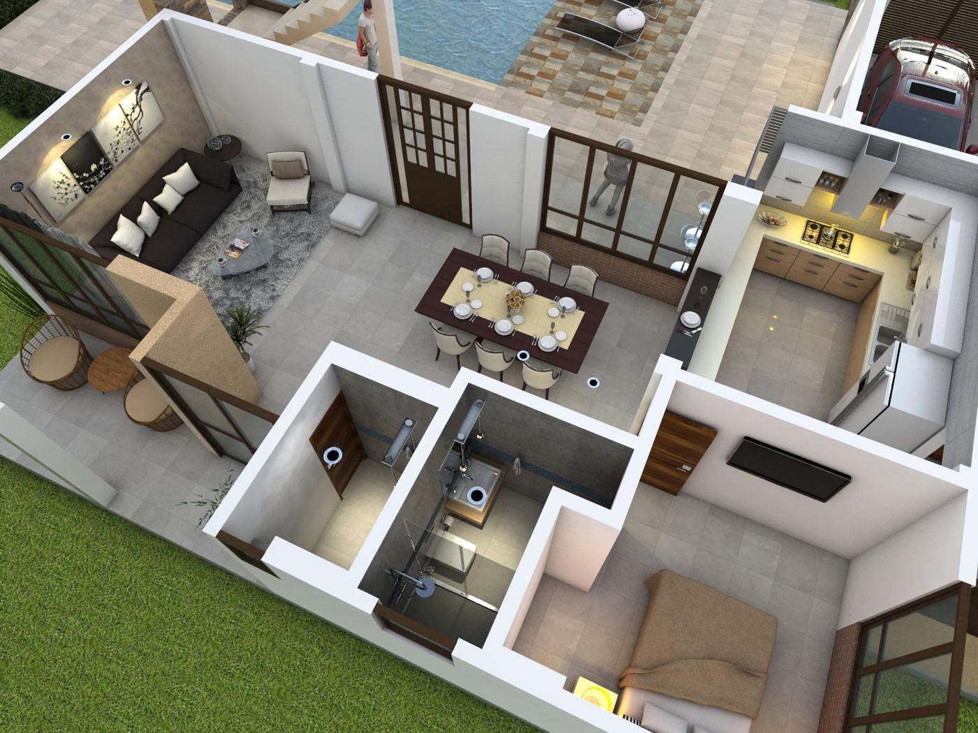 Planos de casas campestres dise os modernos venta en linea for Casas con planos y fotos