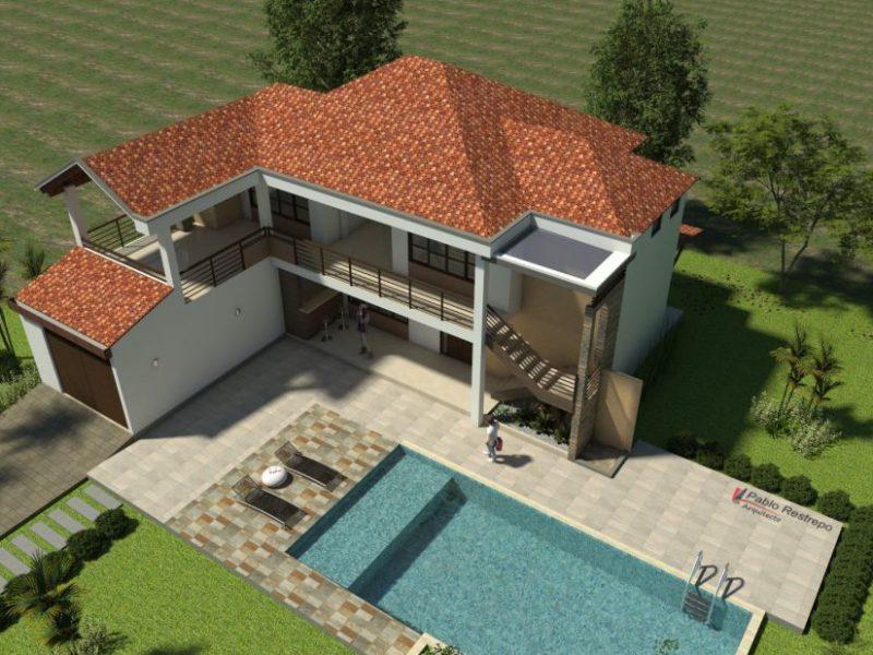 Diseño casa campestre horizonte
