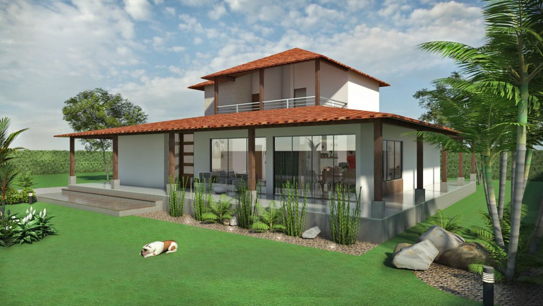 Disenos de chalets modernos arquitectura del hogar - Planos de chalets modernos ...