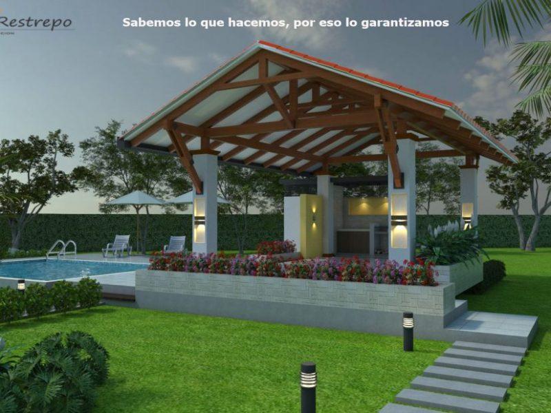 Dise o casa campestre villa celeste proyecto moderno de - Casas diseno moderno ...