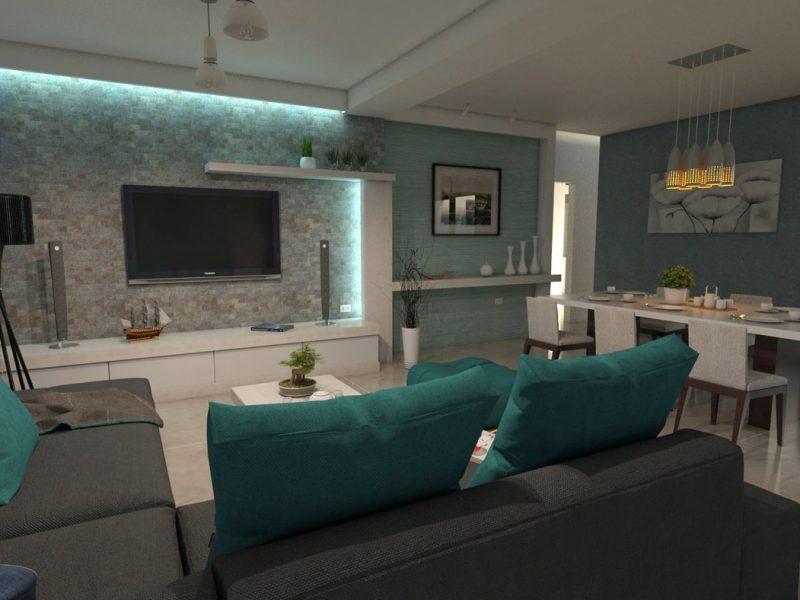Dise o casa campestre villa celeste proyecto moderno de un piso - Diseno de casas en linea ...