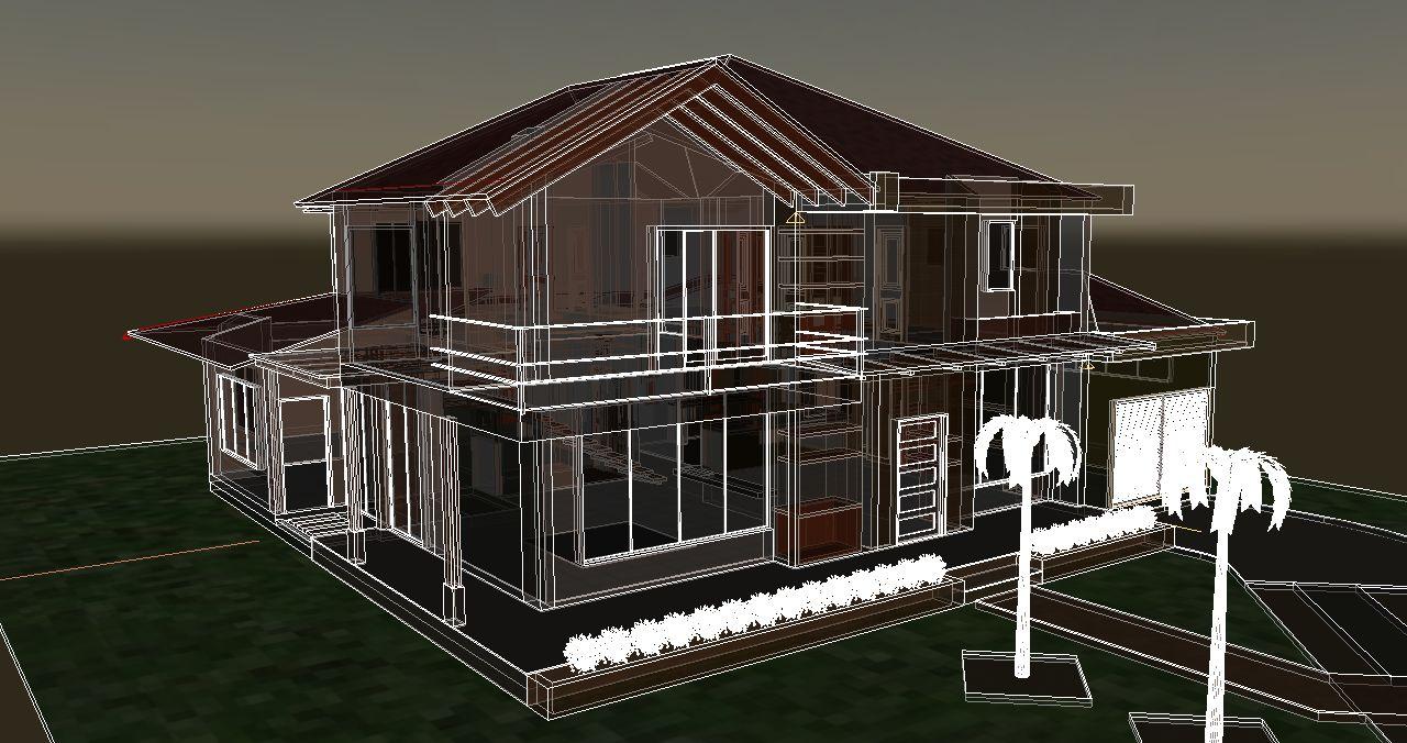 Planos de casas campestres dise os modernos venta en linea for Diseno de casas 3d online