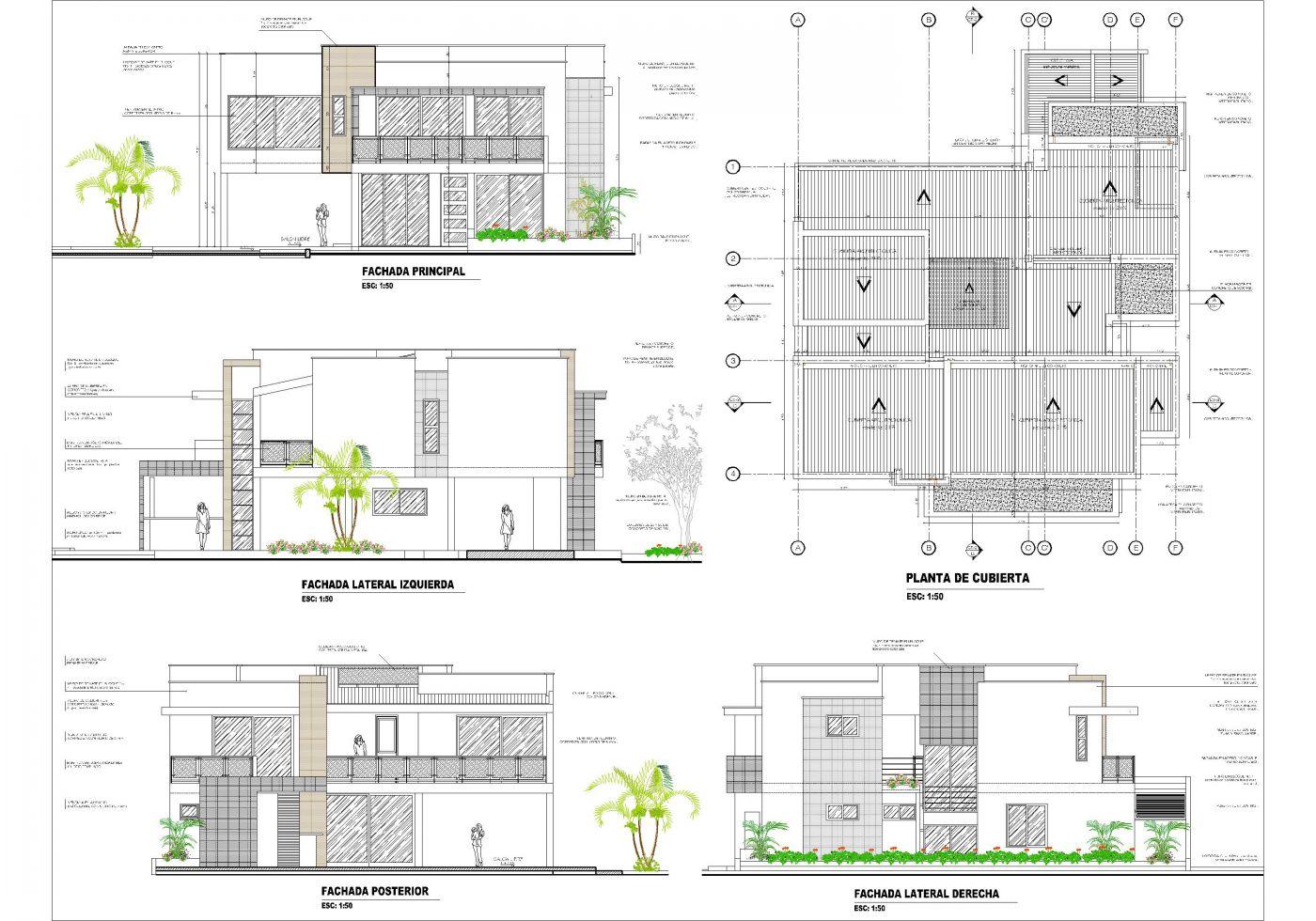 Planos de casas campestres dise os modernos venta en linea for Planos de casas 200m2