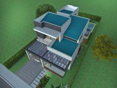 Diseño casa moderna la pradera