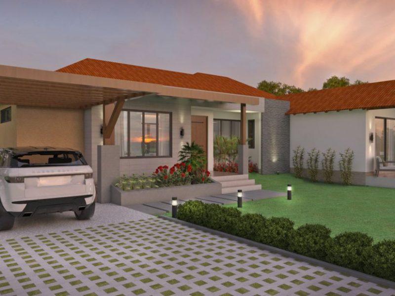 Diseño casa campestre los tulipanes, Venta de planos en linea