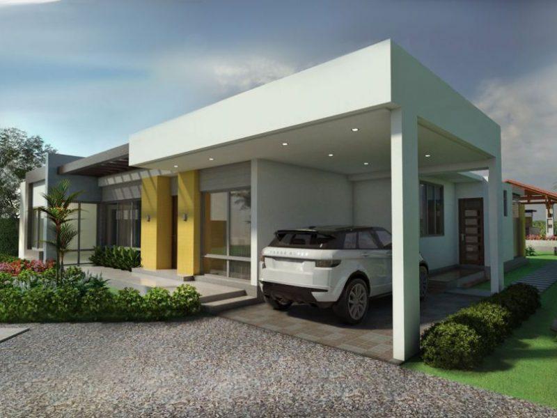 Dise o casa campestre villa celeste proyecto de casa for Pisos para casas campestres