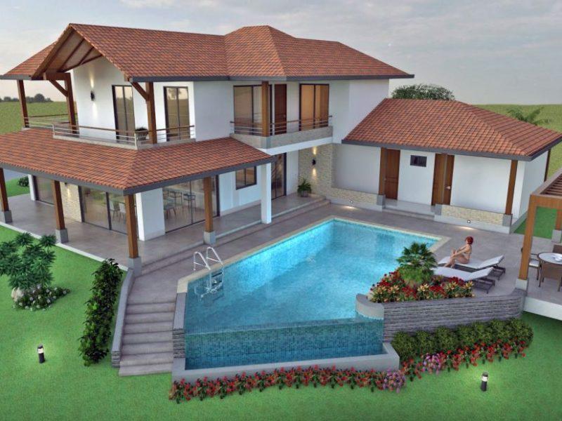 Diseño casa de campo la colina