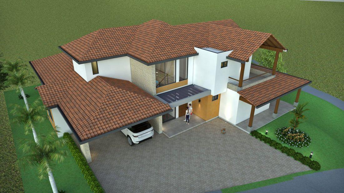 Dise o casa de campo la colina planos de casas campestres dise os modernos venta en linea - Diseno de casas en linea ...