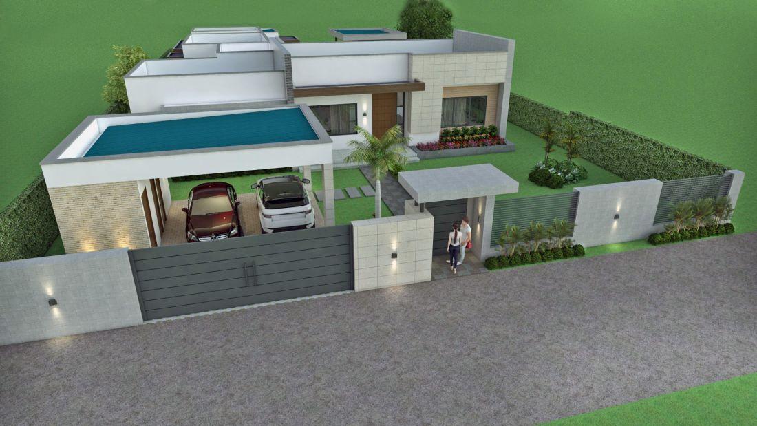 Fachadas de casas en un piso planos de casas modernas - Casas minimalistas de un piso ...