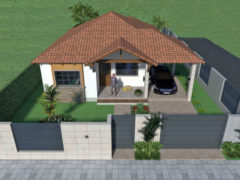 Diseño casa campestre el edén