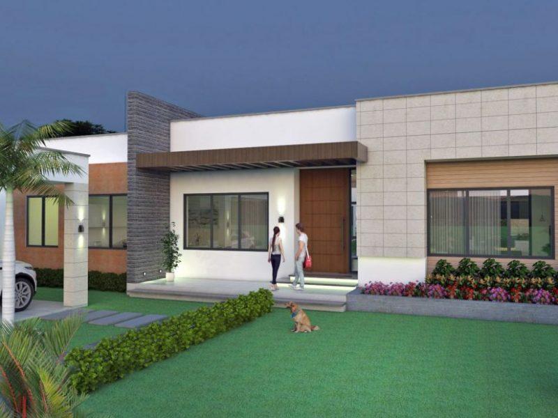 Dise o casa campestre valle verde planos casa campestre for Planos de cabanas campestres