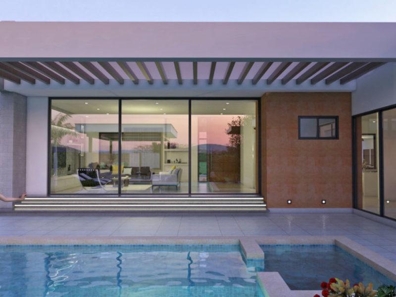 Diseño casa campestre valle verde