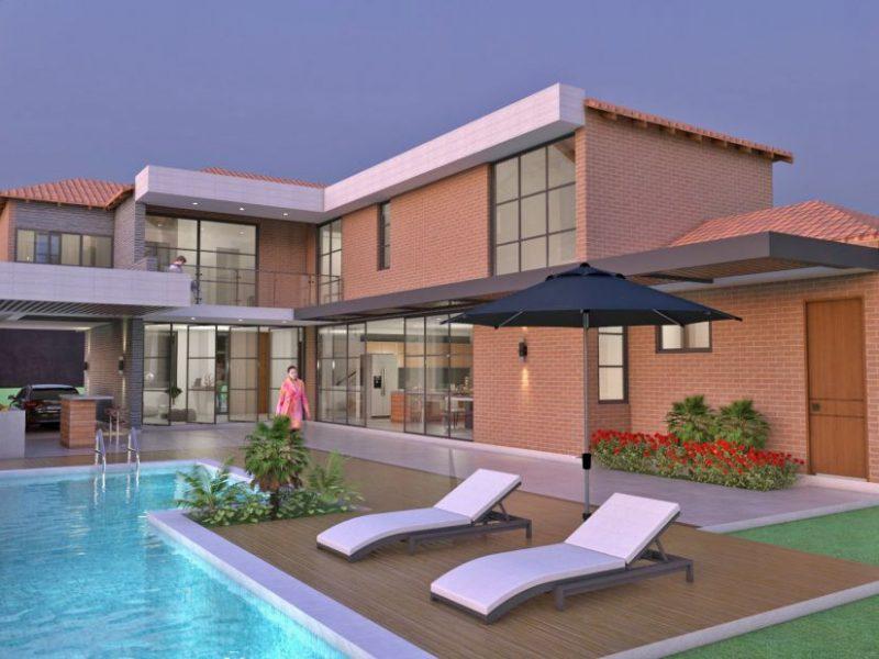 Diseño casa campestre el paraíso