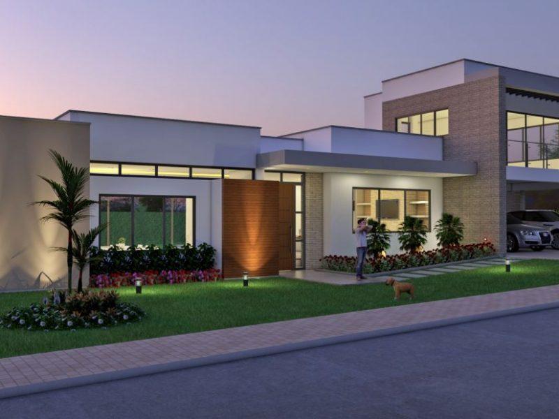 Diseño casa campestre terranova