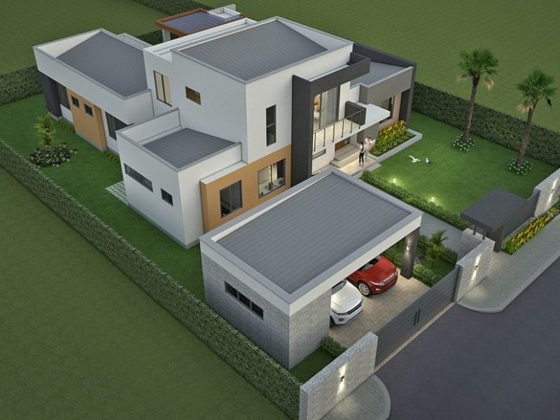 Diseño casa campestre valle de los girasoles
