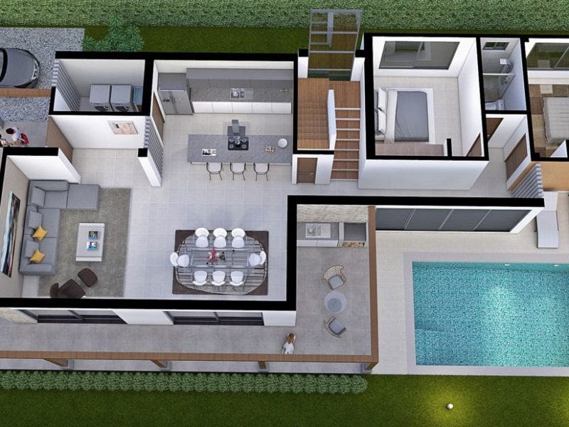 Diseño casa campestre la primavera