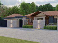 Render exterior 2, Diseño casa campestre valles de sevilla