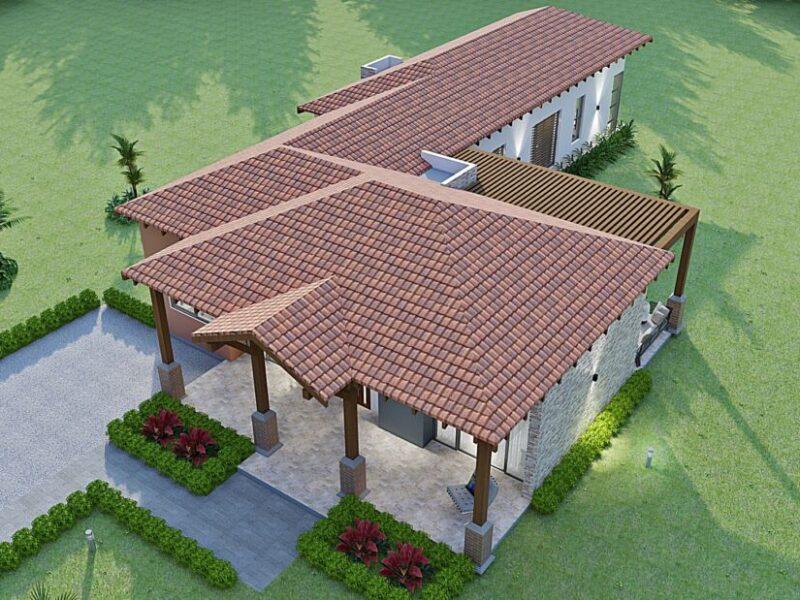 diseño casa campestre el trébol