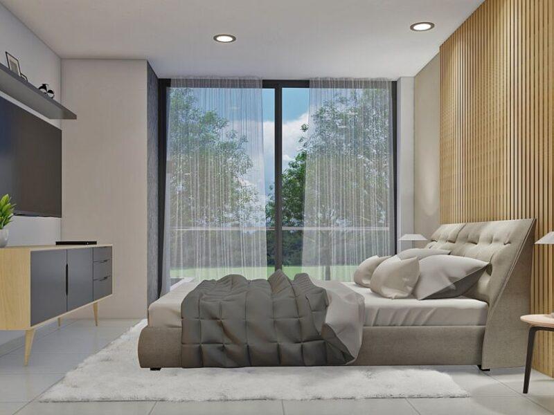 diseño casa moderna llano grande
